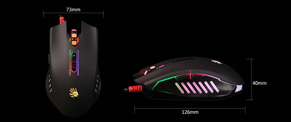 A4Tech Q81-Neon X'Glide Gaming Mouse