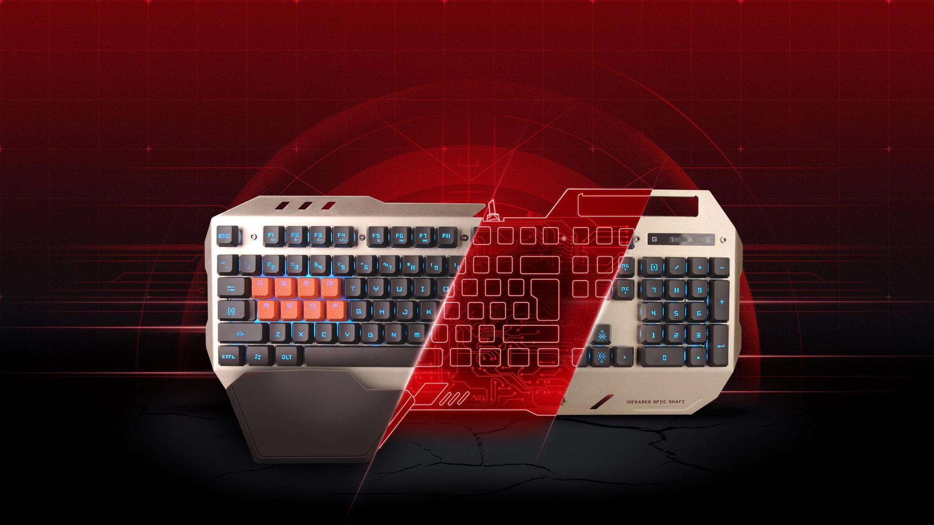Tastatura gaming A4tech B2418