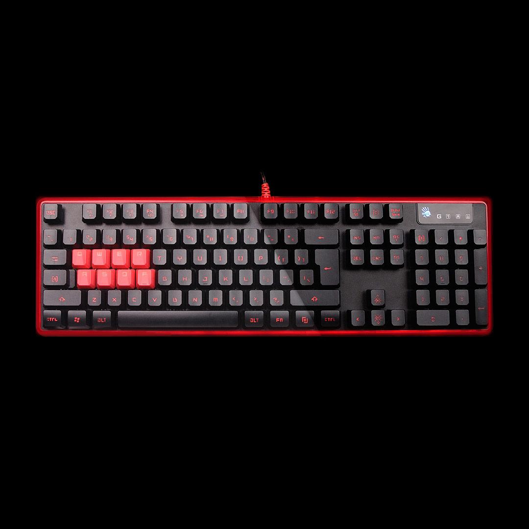 Bloody B2278 Mechanical Gaming Keyboard Rexus K1 Backlight
