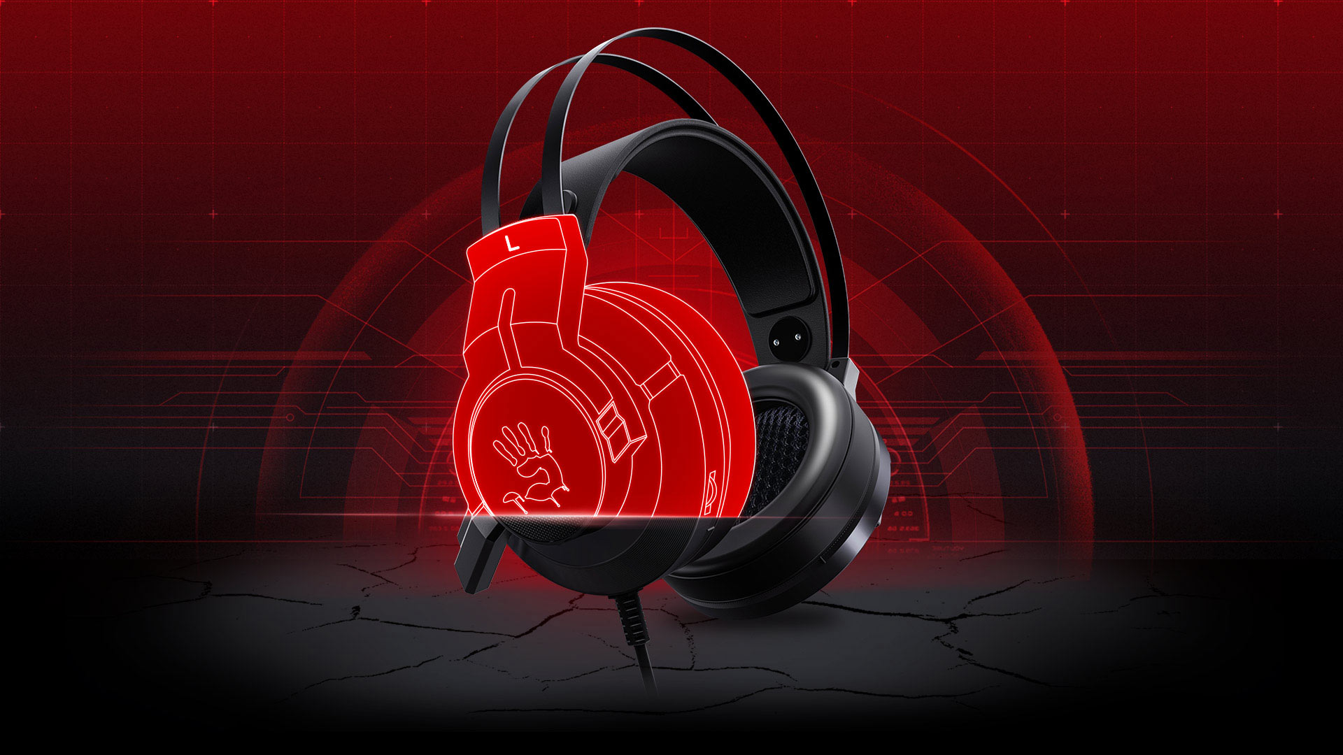 G437-GLARE GAMING HEADSET-Bloody Official Website