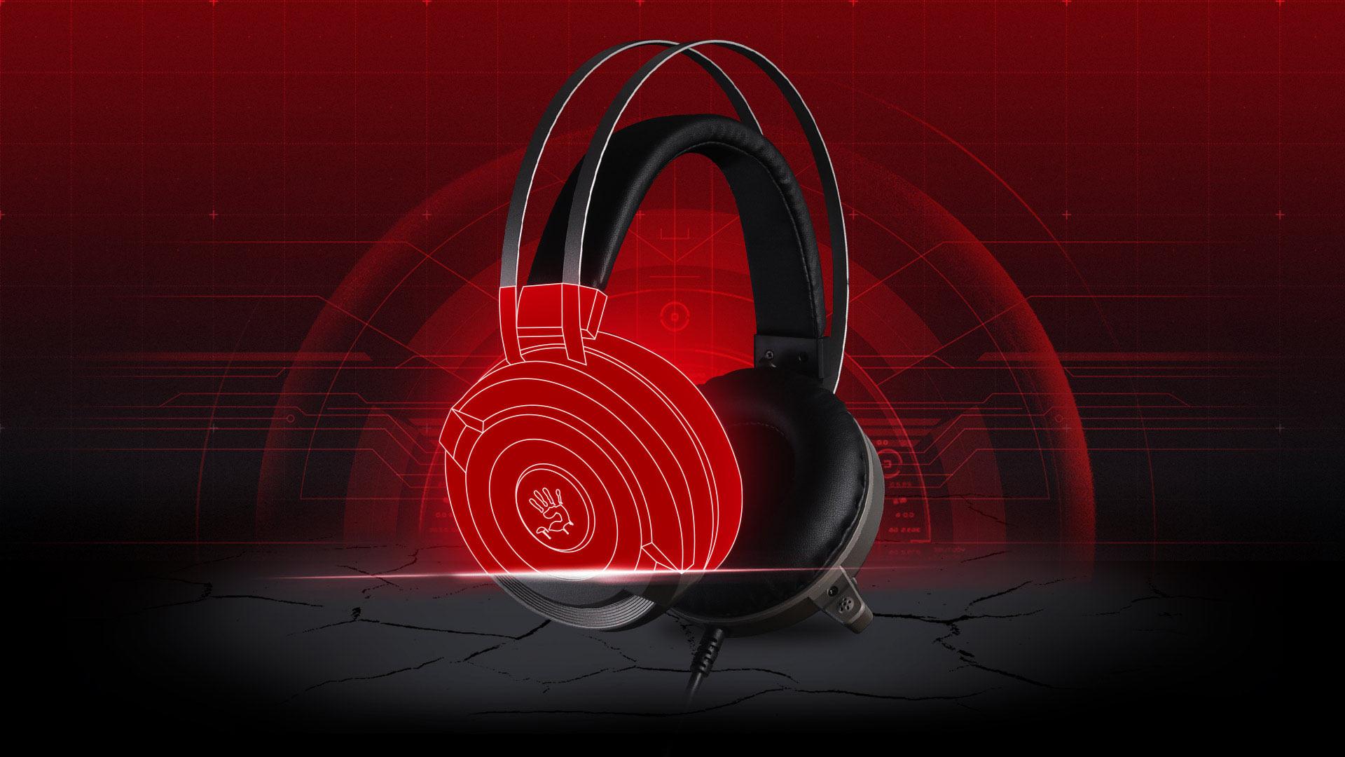 G520-VIRTUAL 7 1 SURROUND SOUND GAMING HEADSET-Bloody